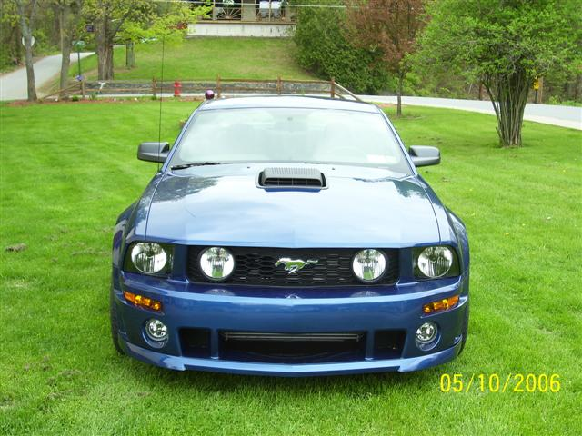 2006 Deep Blue Roush Mustang GT