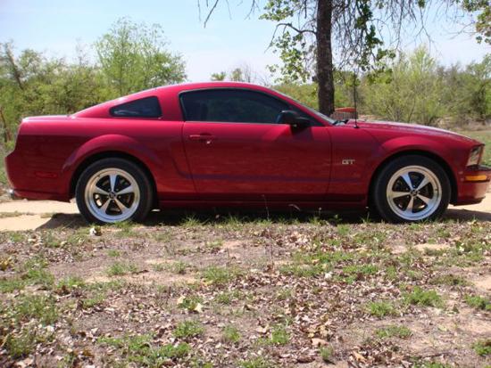 2006 Redfire Mustang GT