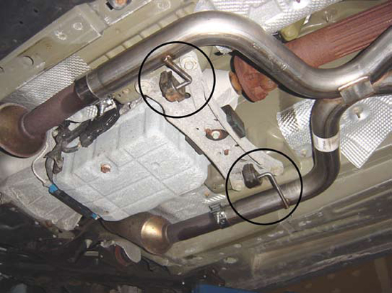 Cut and Clamp Pypes Exhaust