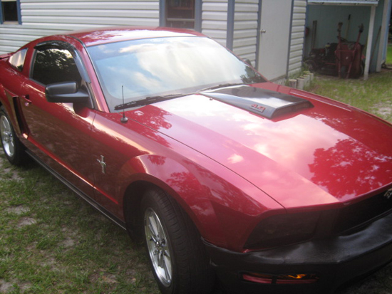 2007 Candy Apple Red Mustang V6 3