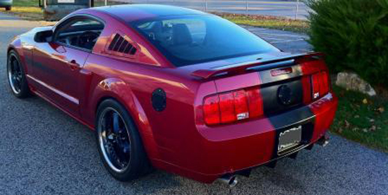 2007 GT/CS Redfire 2