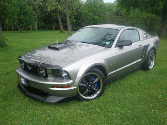2008 Vapor Metallic Premium Mustang GT 4
