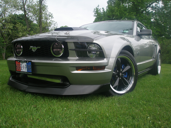 2008 Vapor Metallic Premium Mustang GT 5