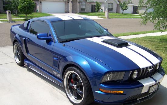 2008 Vista Blue Mustang GT 6