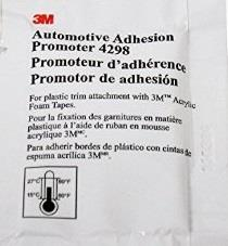"""3m Automotive Adhesion Promoter 4298 ... with the provided 3M """"Automotive Adhesion Promoter 4298"""" wipe"""