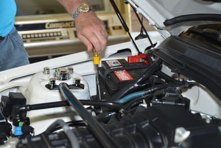 change car battery