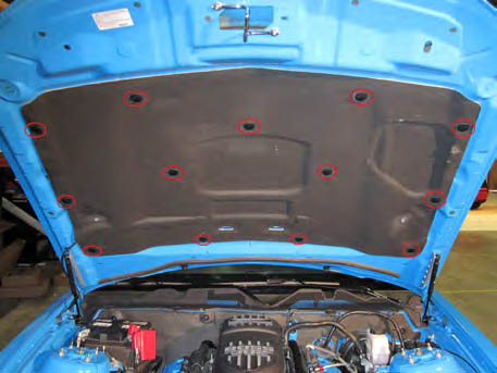 How To Install A Mmd Hood Scoop On Your 2005 2009 Mustang