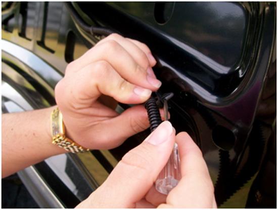 Mustang Mirror GT Trunk Lid Mat 05-09 GT 1