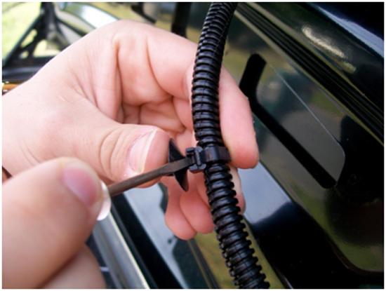 Mustang Mirror GT Trunk Lid Mat 05-09 GT 2