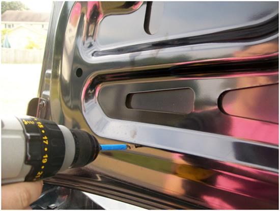 Mustang Mirror GT Trunk Lid Mat 05-09 GT 9