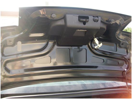 Mustang Mirror GT Trunk Lid Mat 05-09 GT 11