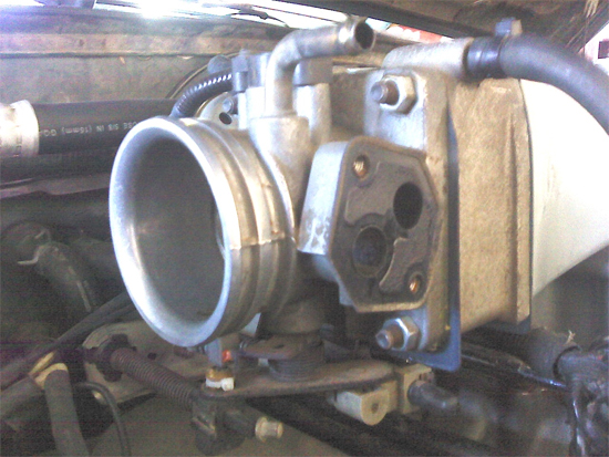 BBK 75mm Throttle Body w/ EGR Spacer 86-93 5.0L 4