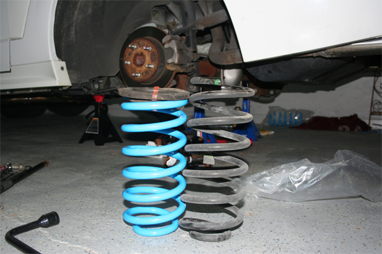 BBK Specific Rate Lowering Springs 79-04 7