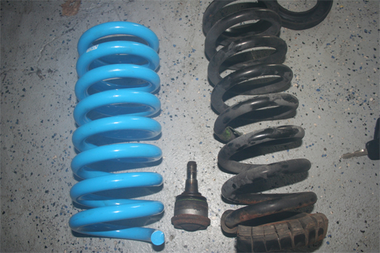 BBK Specific Rate Lowering Springs 79-04 17