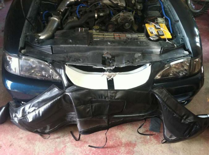 CoverCraft Bra (94-98 GT, V6) Install 4