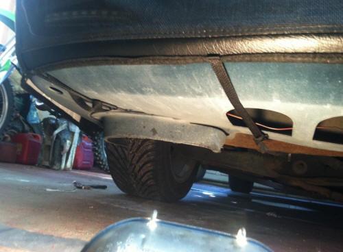 CoverCraft Bra (94-98 GT, V6) Install 11
