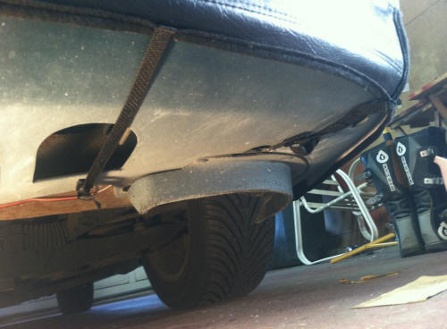 CoverCraft Bra (94-98 GT, V6) Install 13