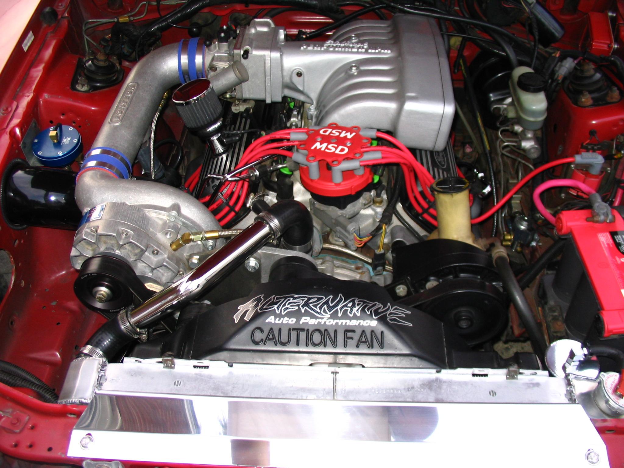 1999 Red Mustang GT