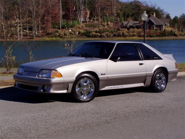 1991 Metallic Mustang GT