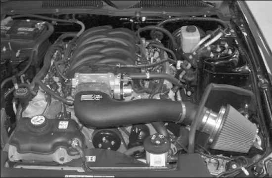 K&N Mustang FIPK Air Intake Kit 05-09 GT 28