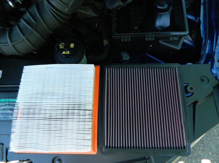 K&N-Drop-In-Replacement-Air-Filter-(05-09 GT; 05-10 V6)-Install-92012-6