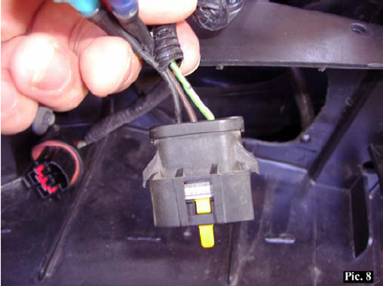 mustang gt headlight switch wiring diagram  mustang angel eye projector headlights installation guide on 95 mustang gt headlight switch wiring diagram