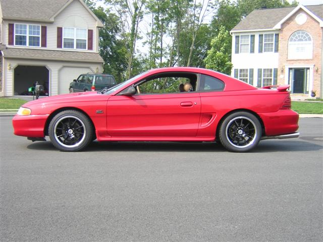 95 Red Mustang GT