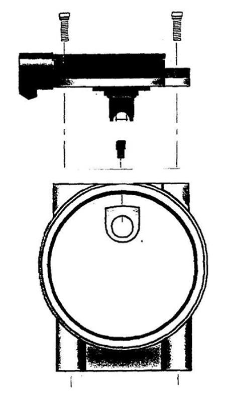 CnL Mustang Mass Air Meter / Sensor 8693 1