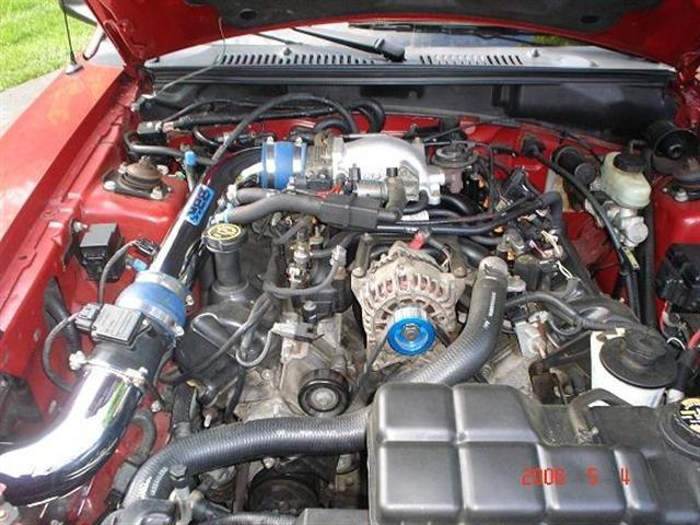 1999 Lazer Red Mustang GT