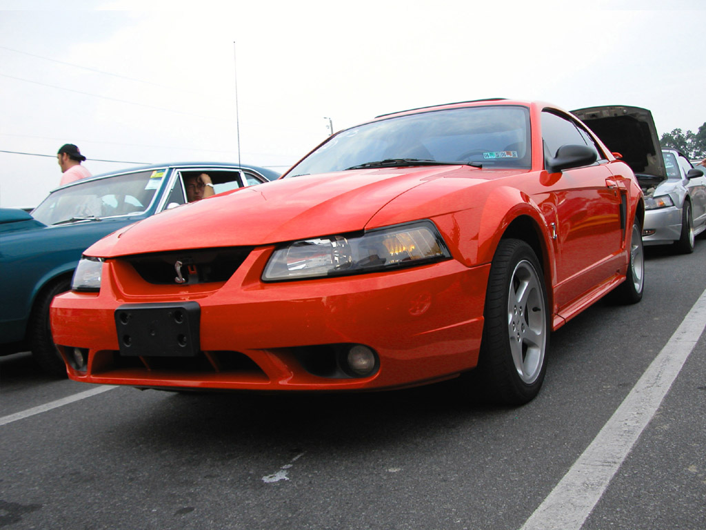 Performance Red 2001 SVT Cobra