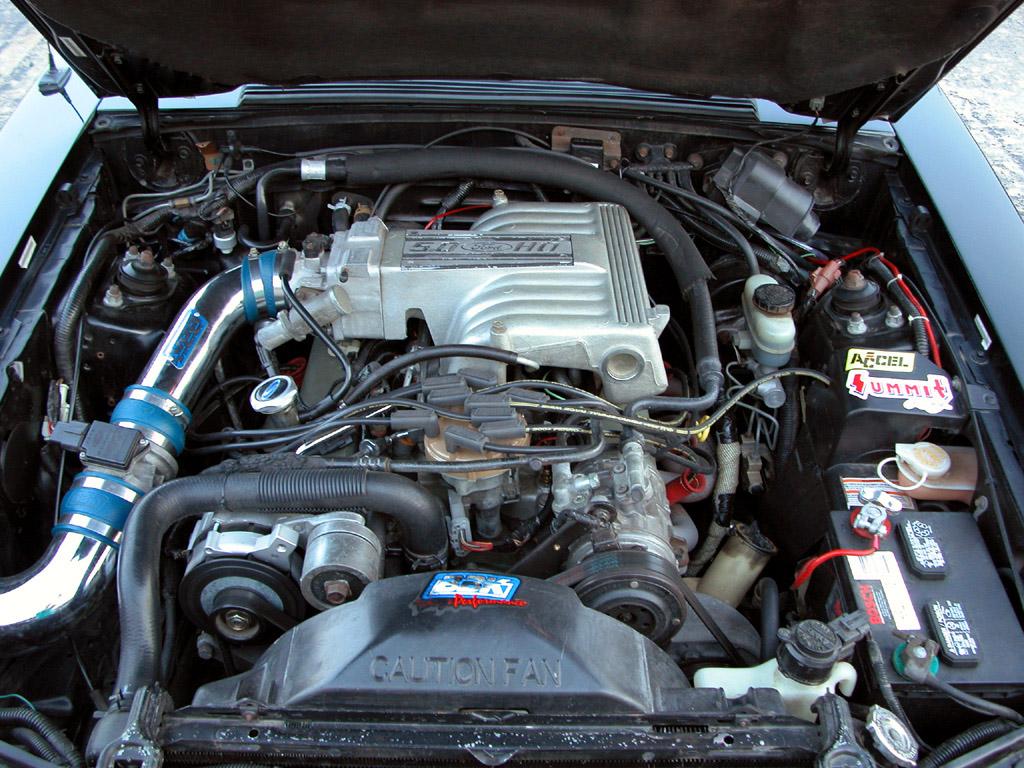 Nick M's Black 1993 Mustang GT