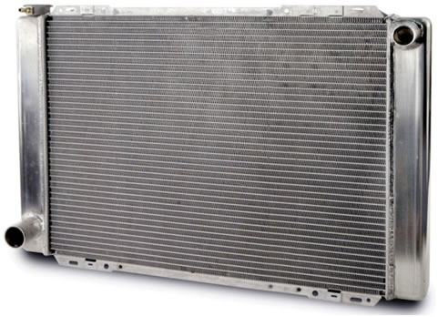 AFCO radiator for a Foxbody Mustang