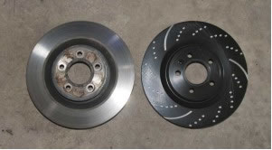 Factory Mustang rotors vs aftermarket rotors