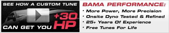 Learn More about Bama Custom Tuning at AmericanMuscle