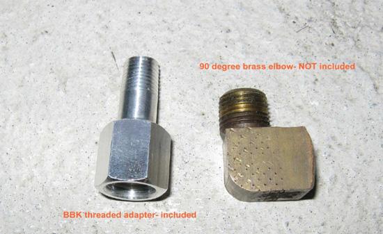 BBK Fuel Pressure Gauge 8693 9