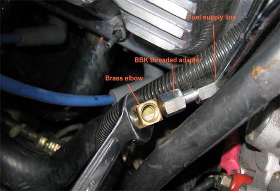 BBK Fuel Pressure Gauge 8693 10