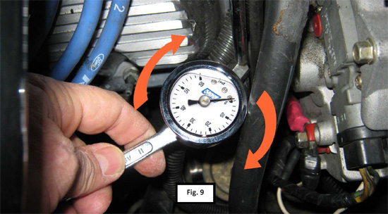 BBK Fuel Pressure Gauge 8693 11