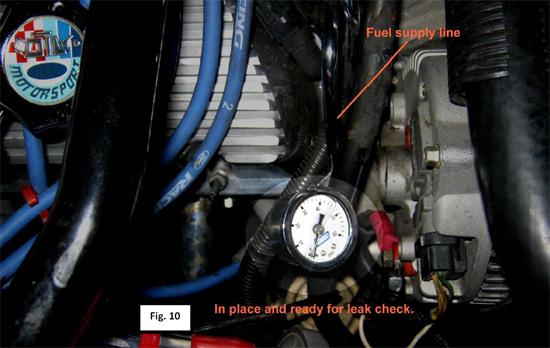 BBK Fuel Pressure Gauge 8693 12