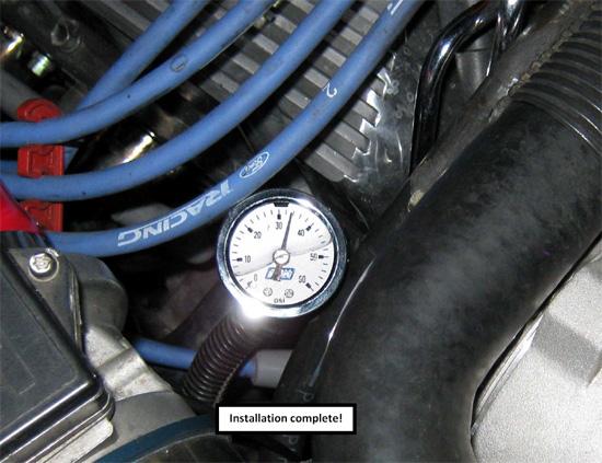 BBK Fuel Pressure Gauge 8693 13