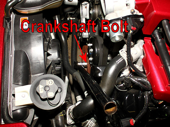 Loosen Crankshaft Bolt