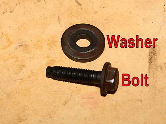 Remove Bolt and Washer