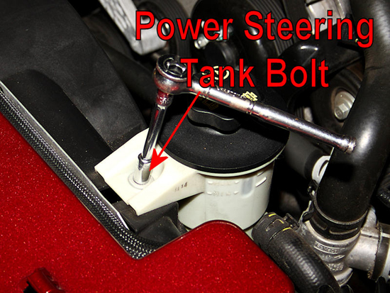 Remove Power Steering Tank