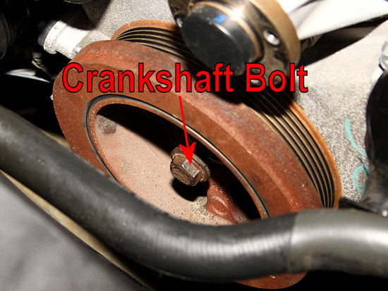 Thread Crankshaft Bolt On