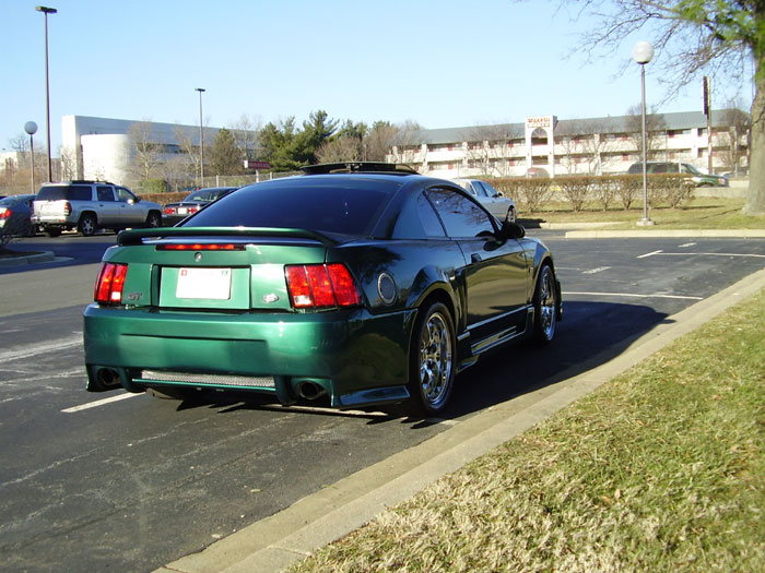 Mustang GT with Deep Dish Chrome FR500's