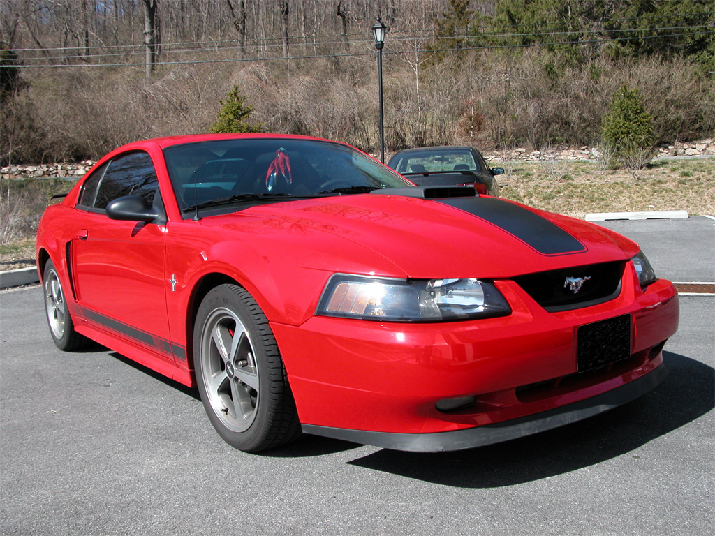 Torch Red 2003 MACH1 Mustang