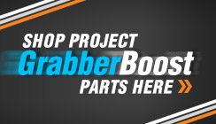 Shop Project Grabber Boost Mustang Parts