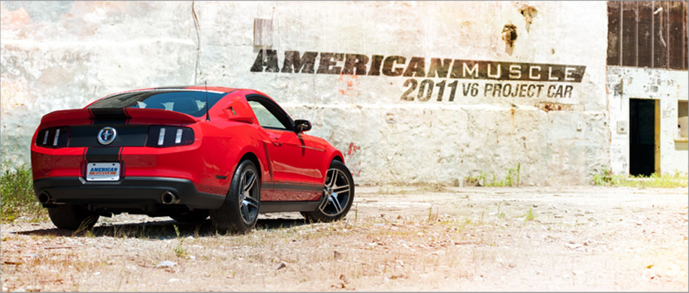 AmericanMuscle 2011 V6 Project Car