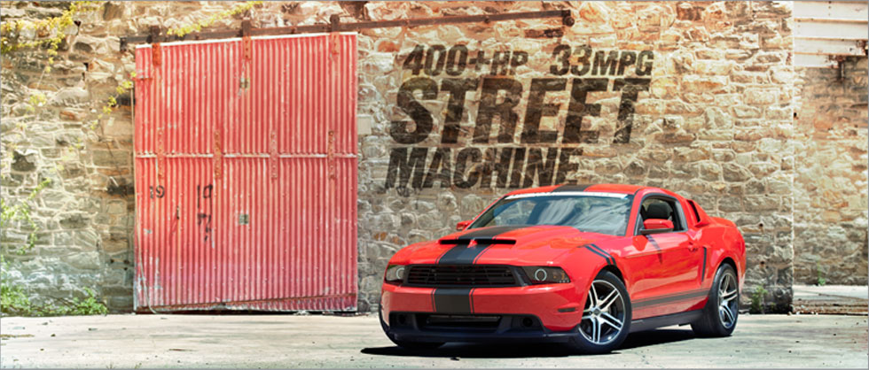 400+HP 33MPG Street Machine