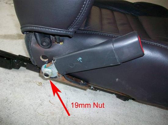 Mustang Corbeau Seats 7910 10