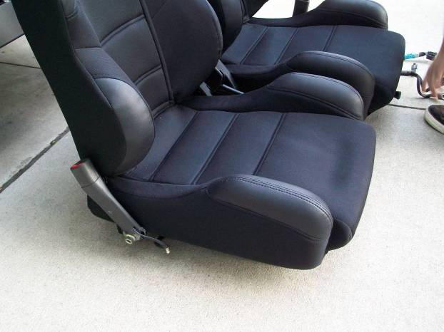 Mustang Corbeau Seats 7910 23